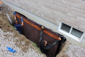 external foundation waterproofing