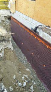 Waterproofing methods exterior waterproofing